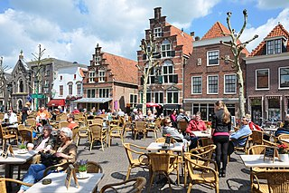 Oudewater Municipality in Utrecht, Netherlands