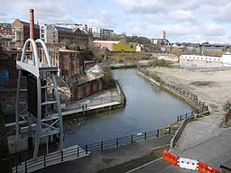 Ouseburn above the Barrage - geograph.org.uk - 1777616.jpg