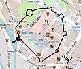 Oxford castle plan based on Booth et al. 2003.jpg