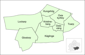 Oxie - Neighbourhoods before July 2013.