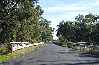 Oxley, New South Wales - Bridge over the Lachlan River