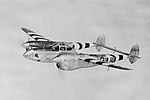 """P-38 F5 """"Mary"""" 42-68229, 10th Photo Reconnaissance Group, 34th Photographic Reconnaissance Squadron, Flight A, ETO (1944-45) Chalgrove, England, piloted by Lt. Glen Tovani.jpg"""