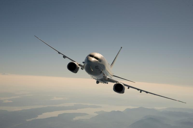 P-8 over Pacific