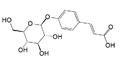 P-coumaric acid glucoside.png