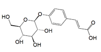 P-coumaric acid glucoside.png