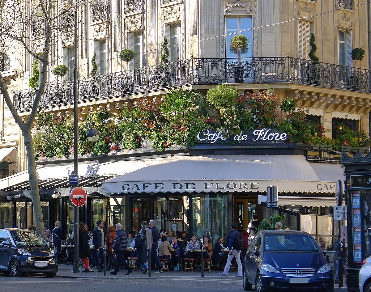 Caf Ef Bf Bd St Germain Paris Rue Du Bac Salle Er  Ef Bf Bdtage
