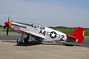 P51 Mustang Red Tail