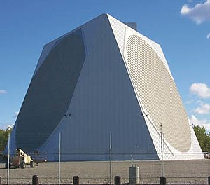A PAVE PAWS Early Warning Radar System built b...