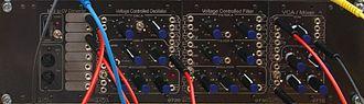 PAiA Electronics - Image: P Ai A P9700S Modular Analog Synthesizer