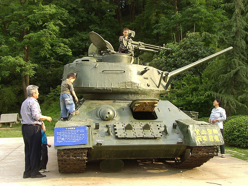 Type 58 in a museum - Credits : wikipedia commons