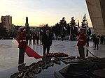 PM lays a wreath at Martyrs Monument in Algiers (8431378797).jpg