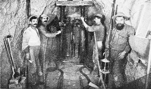 PSM V49 D767 Drills and drillers in a nevada mine.jpg