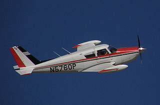 Piper PA-24 Comanche American four-seat or six-seat, low-wing monoplane built 1956-1972