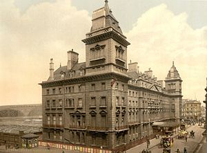 Philip Charles Hardwick - Great Western Royal Hotel, London, now the Hilton London Paddington