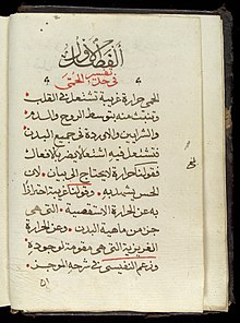 Page from an Arabic Text Wellcome L0033671.jpg
