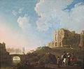 Paisaje con las ruinas de la Abadía de Rijnsburg.jpg