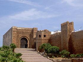La grande porte de la kasbah des Oudayas