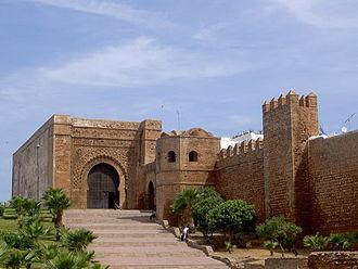 Rabat - Bab Oudaia gate