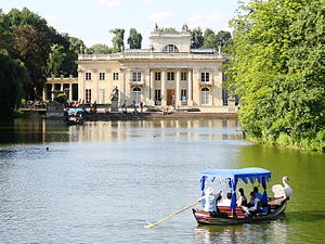 Palace on the Water, Łazienki Park, Warsaw