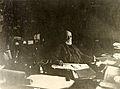 Palais Mondial. Paul Otlet dans la salle de la Direction. 1927.jpg