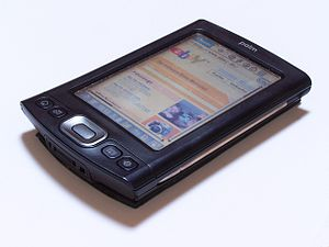 Mobile computing - A Palm TX PDA