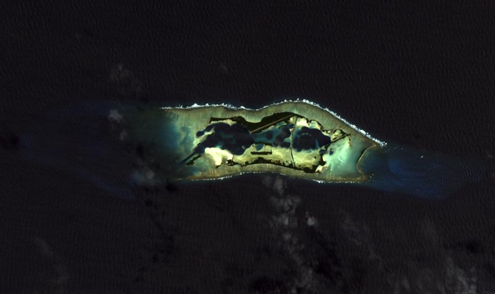 Palmyra Atoll 2010-03-18, EO-1 ALI bands 5-4-3-1, 15m resolution