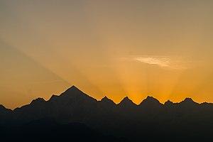 Ushas - Image: Panchchuli II at dawn