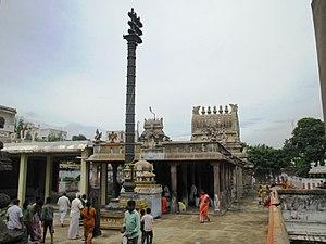 Pandava Thoothar Perumal Temple - Image of the vimana