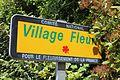 Panneau village fleuri St Genis Menthon 3.jpg