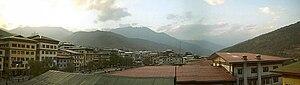 Panoramic view Thimphu 1