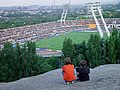 Panoramio - V&A Dudush - Стадион Шахтер с знаменитого террикона.jpg
