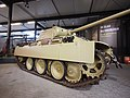 Panzer V Ausf.G Panther of the German 107th Panzer Brigade at the Overloon War Museum, was knocked out by the 2nd Battallion, East Yorkshire Regiment, on 13 October 1944 at Overloon foto2.JPG