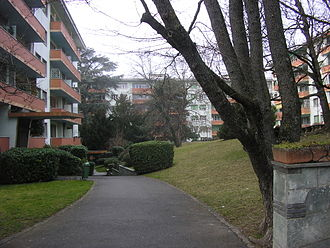Chêne-Bourg - Apartment buildings in Chêne-Bourg