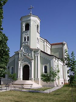 The Roman Catholic church in the Parchevich neighbourhood