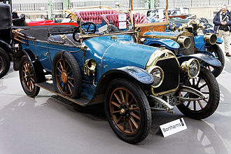 Automobiles Darracq France - Clegg's 16 horsepower type V14