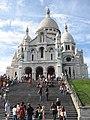 Paris 75018 Basilique du Sacré-Cœur south facade stairs 20060731 (01).jpg