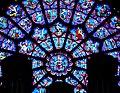 Paris Cathédrale Notre-Dame Innen Westliche Rosette 5.jpg