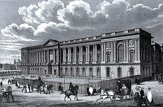 Repatriation (cultural heritage) - Paris Louvre ca. 1845