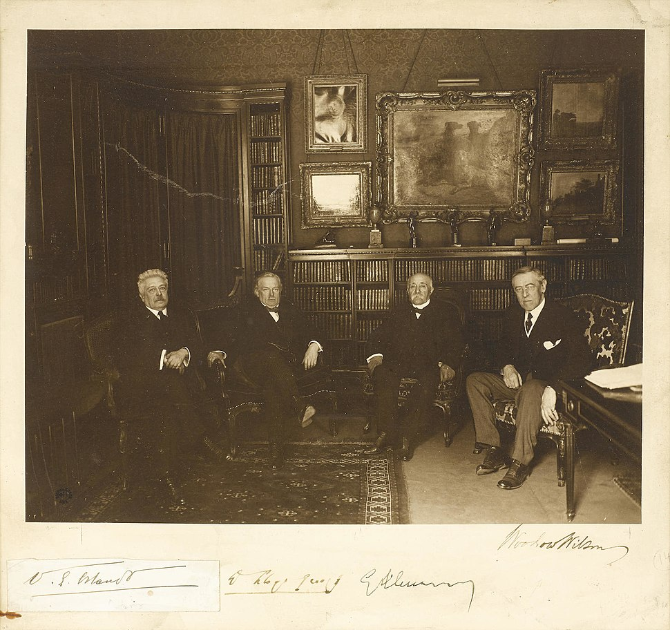 Paris Peace Conference 1919 big four