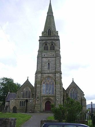 St Paul's Church, Peel - St Paul, Peel, west end