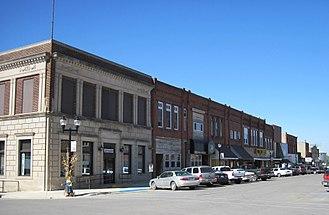 Parkersburg, Iowa - Downtown Parkersburg