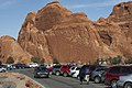 Parking at Devils Garden (8659049504).jpg