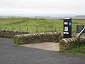 Parking meter at Brocolitia - geograph.org.uk - 1020206.jpg