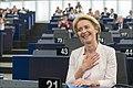 Parliament elects Ursula von der Leyen as first female Commission President (48300922507).jpg