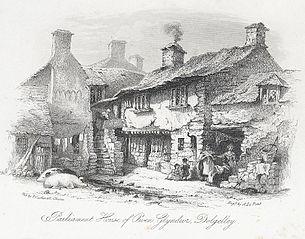 Parliament house of Owen Glyndwr, Dolgelley