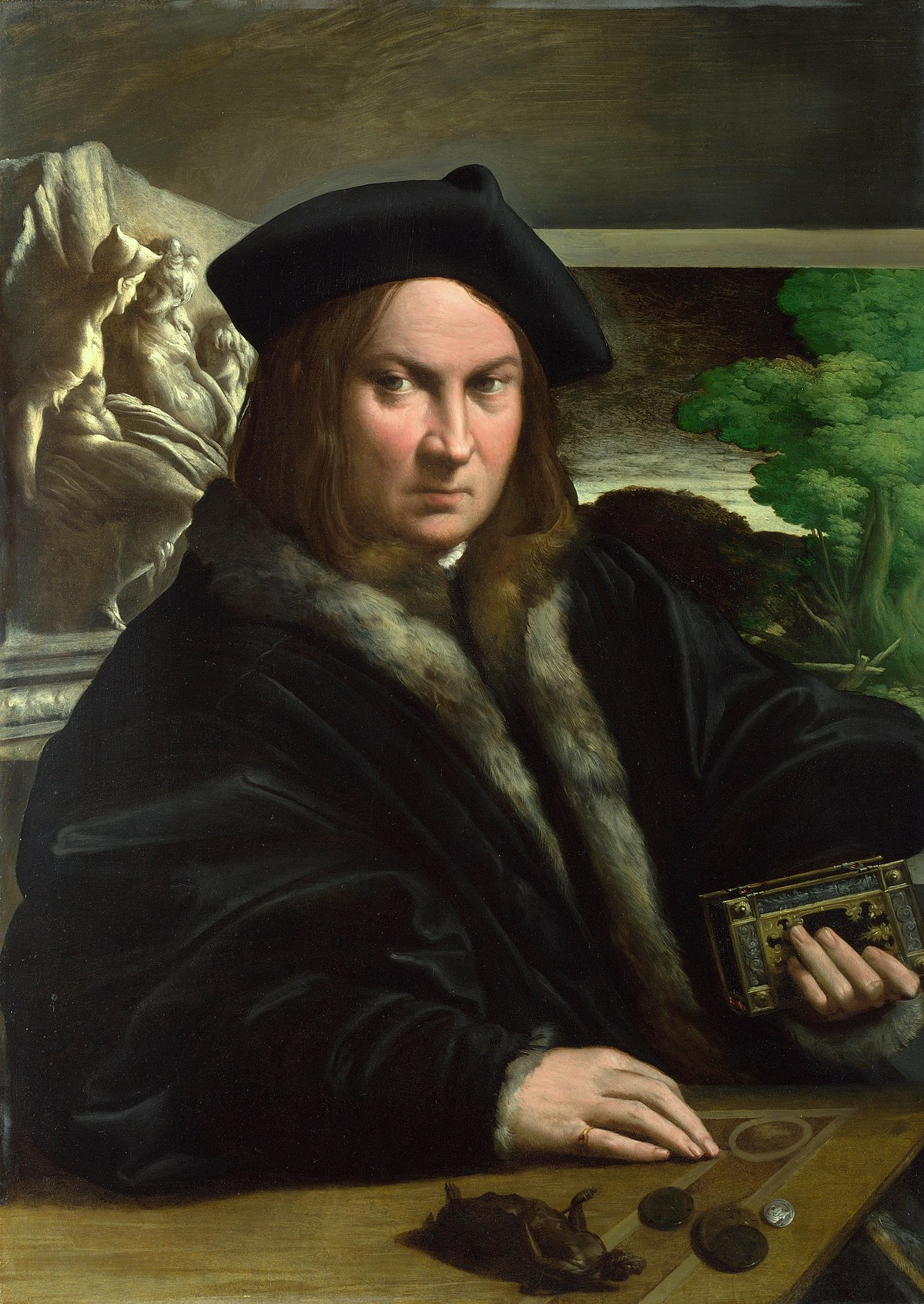 Famous Rennaisance Painting Man In Hat