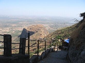 Champaner-Pavagadh Archaeological Park - Path on Pavagadh Hill