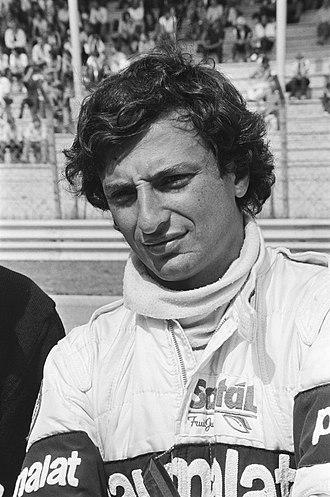 Riccardo Patrese - Patrese at the 1982 Dutch Grand Prix.