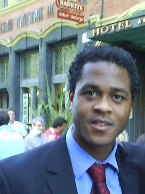 Patrick Kluivert - Kluivert in 2008 in Lille