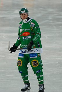 Patrik Nilsson Swedish bandy player